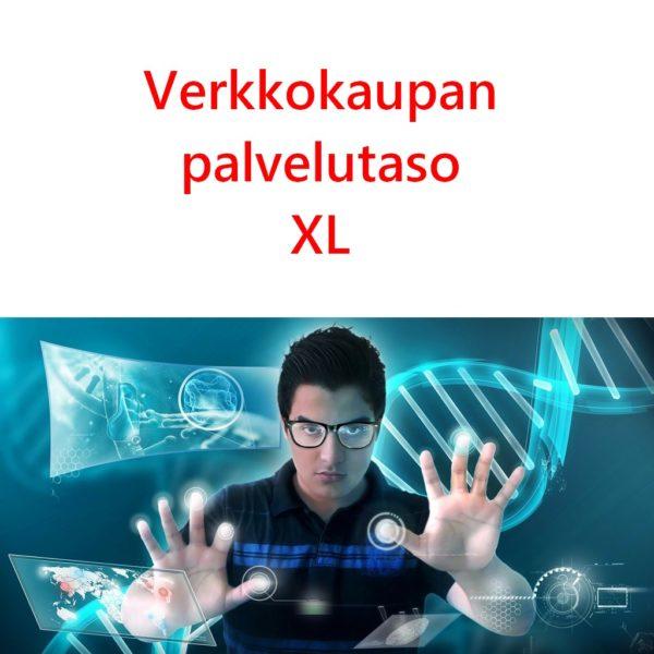 Verkkokaupan palvelutaso XL