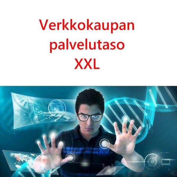 Verkkokaupan palvelutaso XXL