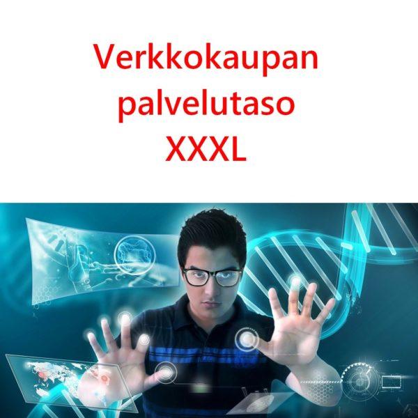 Verkkokaupan palvelutaso XXXL
